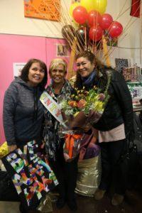 Cheryl, Aunty Pam and Vicki