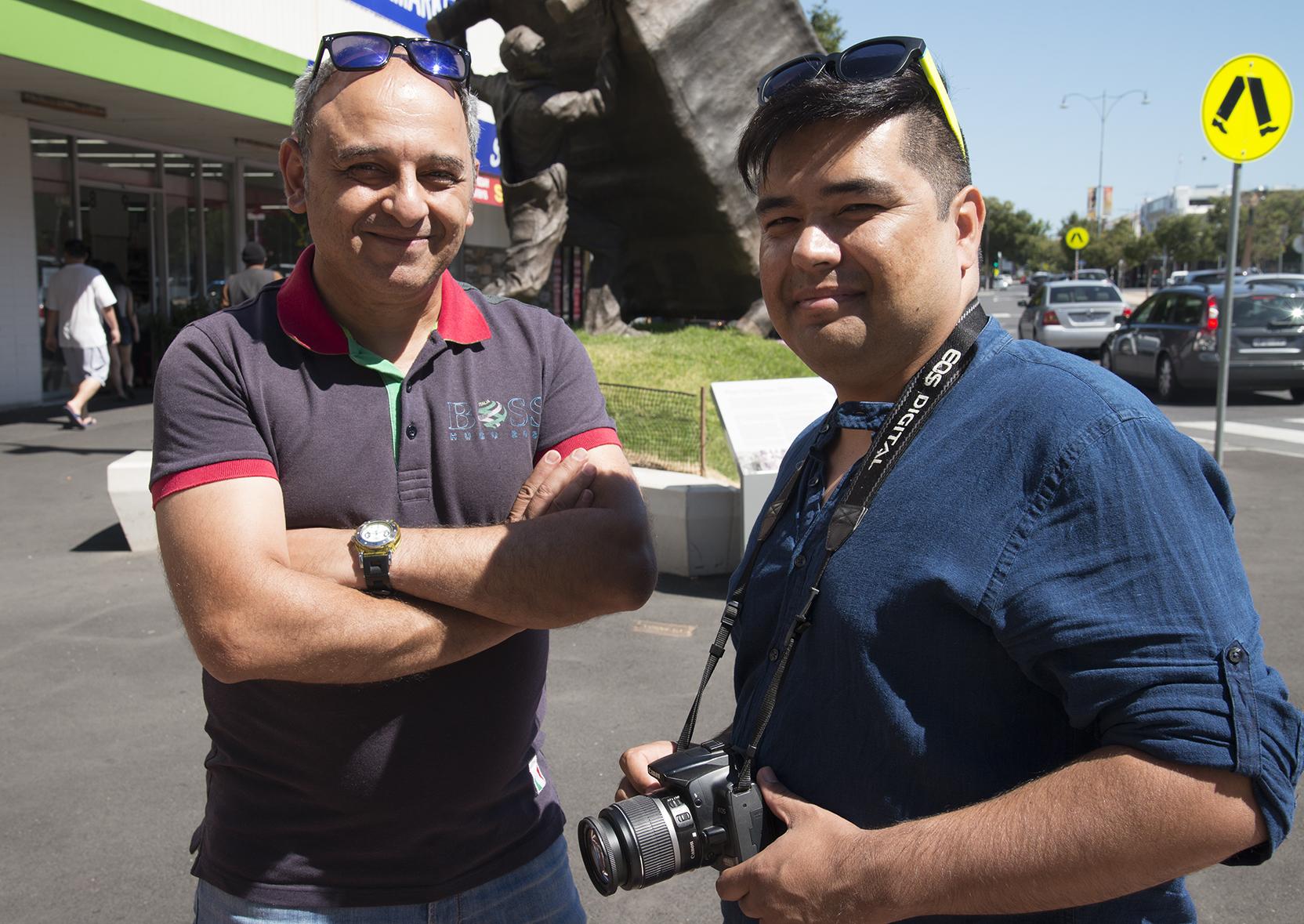 Tadros and Boman, Diversity Through The Lens participants