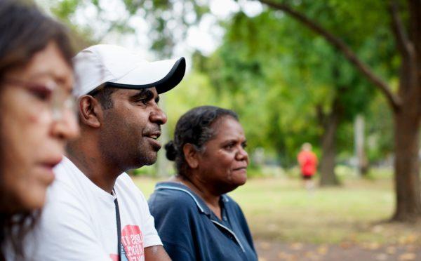 Group of Aboriginal people